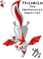 Thimble theMechanical Squirrel by Yamicat