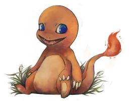 Speedpaint- Charmander by Zerucune