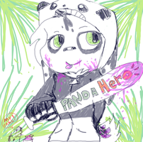 Panda Hero by Kassy1011