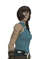 Older Korra Design by theroguesigil