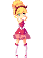 Star Butterfly Blood Moon Ball by KelsoBunny