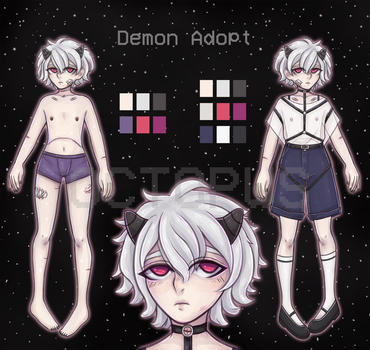 Demon Adopt Auction [OPEN] by octopws
