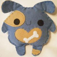 Blue Pup by hellohappycrafts