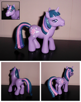 MLP ''Old Meets New'' Custom - Twilight Sparkle by UniqueTreats