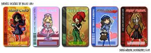 Card Badges I by DragonBeak