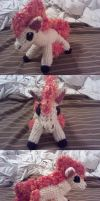 Ponyta Crochet Commission by ScarletPianoWires