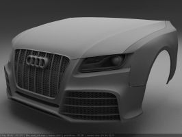 Audi RS5 WIP003 by Pisci