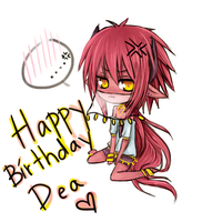 HAPPY BIRTHDAY DEA by akiicchi