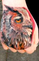 Owl by sass-tattoo