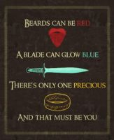 LOTR VALENTINE - Exchange Category by NerdyGeekyDweeb