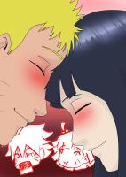 Card07:Naruhina:Mom and Dad are getting kissy face by mattwilson83
