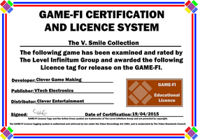 V.Smile Collection Game-Fi Certificate by LevelInfinitum
