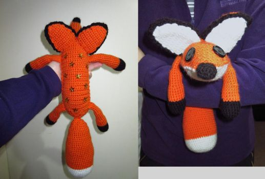 Fox from The Little Prince Movie by Silversname