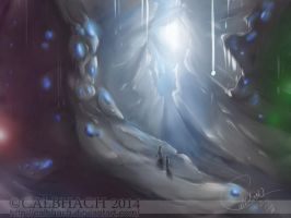 Jeweled Cavern by calbhach