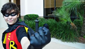 Teen Titans... GO! - Robin Cosplay by DonationForPlushies
