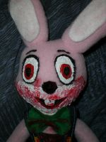 Robbie the Rabbit plush by Keykee88