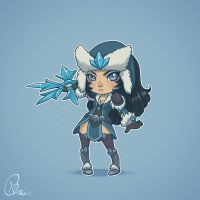 League of Gals  - Sivir by verauko