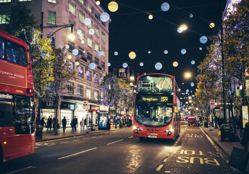 Christmas Lights in Oxford Street by Sarah-BK
