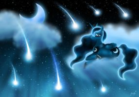 Princess Luna - Night of Purity by Rose-Beuty