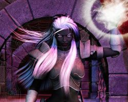 Dark Elf by vaia