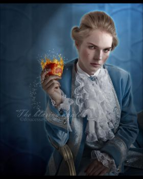 The Blazing Apple by Doucesse