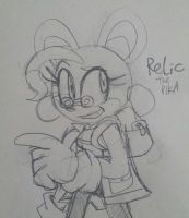 Relic the Pika by rugdog