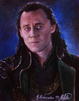 Loki Tom Hiddleston by KerdzevadzeART