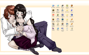 Sappy Desktop is Sappy. by Dezfezable