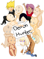 .: Demon Hunters :. Collab by Allyza-Awesome123