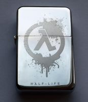 HALF-LIFE - engraved lighter by Piciuu