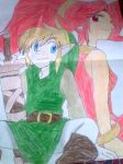 Link and Din by Linkmastersword456