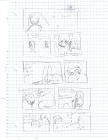 rough draft of comic segment by DFoot86