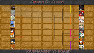 Crown of Chaos Tournament VS Board by Mephilez