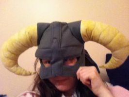 Iron Helmet of Fleece by Alucardalina