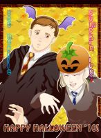 AT: Neville-Luna Halloween by privee