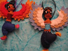 les 2 harpies by nagettebost
