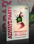 Always Party Flyer -PSD- by retinathemes