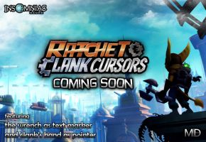 ratchet and clank cursors by PassionisArt