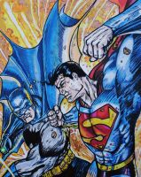 Batman Vs Superman by BikerDA