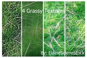 For Grassy Green Textures by ElaineSeleneStock