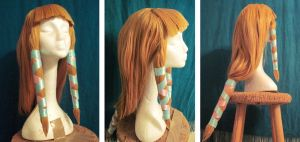Skyward Sword Zelda Wig by seifer-sama