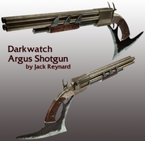 Argus Shotgun (Darkwatch) by JackBryanReynard