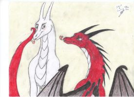 Aniusia and Ralass RQ by goina