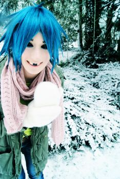 Let it snow--2-D Cosplay-- by Kaorulein