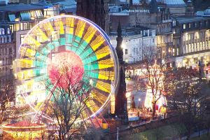Edinburgh's Christmas fun-fair by Brianetta