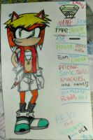 Reva the Hedgehog (Sonic OC) by TheCoolCosplayer22