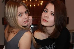 Tonya and me by natalianaumova