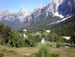 Albanian Alps. by ChR1sAlbo