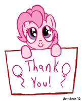 Pinkie Pie for Archive by Art-Anon