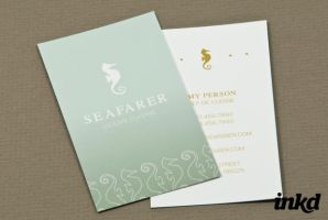 Seafood Restaurant Business by inkddesign